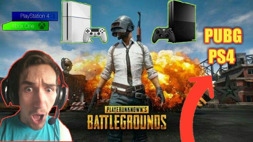 PlayerUnknown's Battlegrounds на PS4